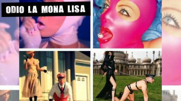Comparación entre vídeos de Rihanna y obras de David LaChapelle
