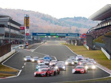Salida Super GT 2019 Fuji DTM R1