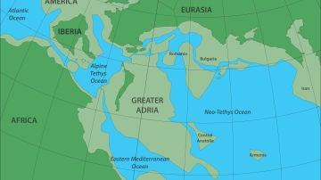 Recreación de Europa, Africa y Gran Adria