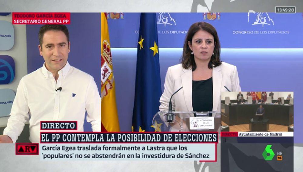 """García Egea (PP): """"Espero que el gobierno comunista con Podemos nos permita tener una casa como la de Iglesias"""""""