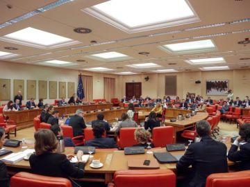 Reunión de la Diputación Permanente celebrada este miércoles en el Congreso