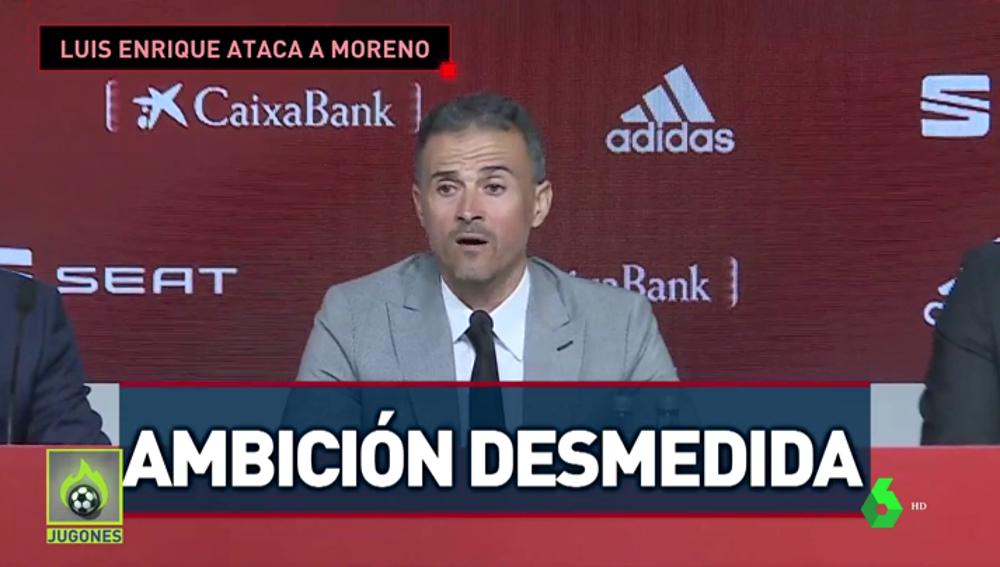 """Luis Enrique explica su """"desencuentro"""" con Robert Moreno: """"Fue desleal y no quiero a alguien así en mi staff"""""""