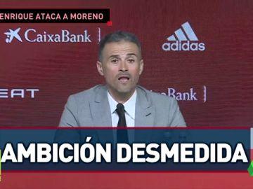 """Robert Moreno ha sido desleal"""
