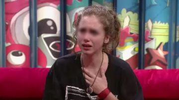 Carlota, víctima de abuso sexual en Gran Hermano