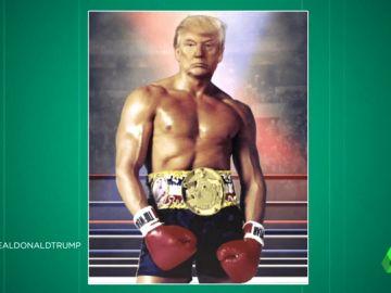 Sí, Donald Trump todavía se puede superar más: analizamos su imagen  'a lo Rocky' que ha impactado al mundo