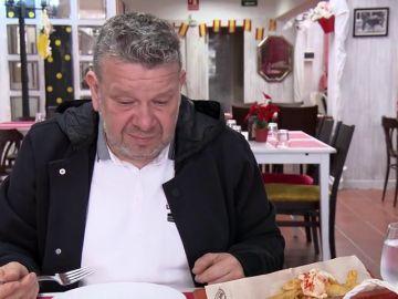 """Chicote comprueba que ni el pimiento del 'Lolailo' """"vale un pimiento"""": """"La comida es una puta mierda"""""""