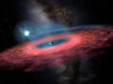 Un agujero negro que desafia los modelos de evolucion estelar