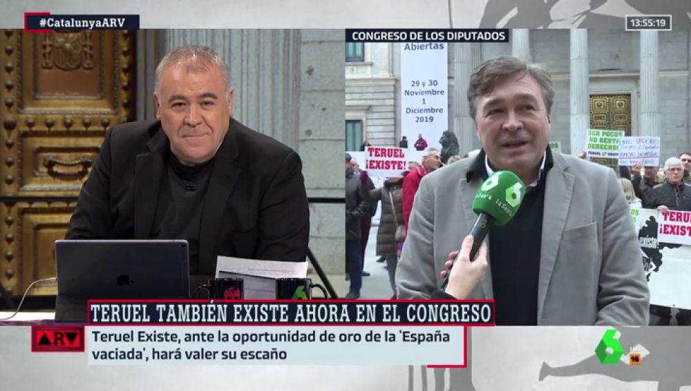 """La reivindicación de Teruel Existe: """"Solo queremos sobrevivir como territorio, es una llamada de socorro"""""""