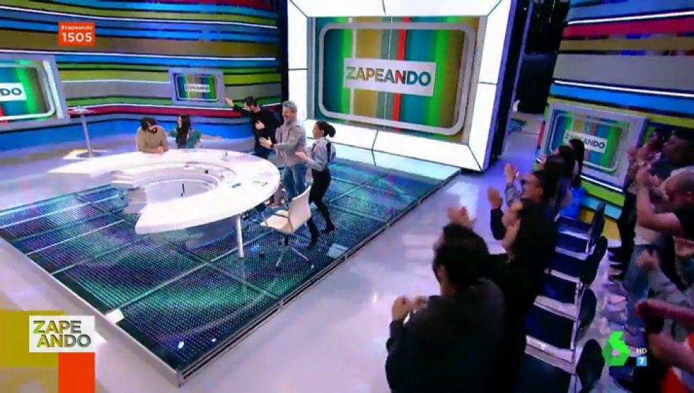 Cristina Pedroche, Dani Mateo, Lorena Castell y Miki Nadal lo dan todo al ritmo de merengue