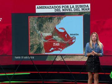 Estas son las zonas de España más afectadas por la subida del nivel del mar