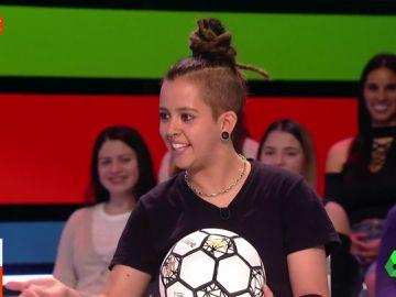 Paloma Pujol, campeona mundial de footbag