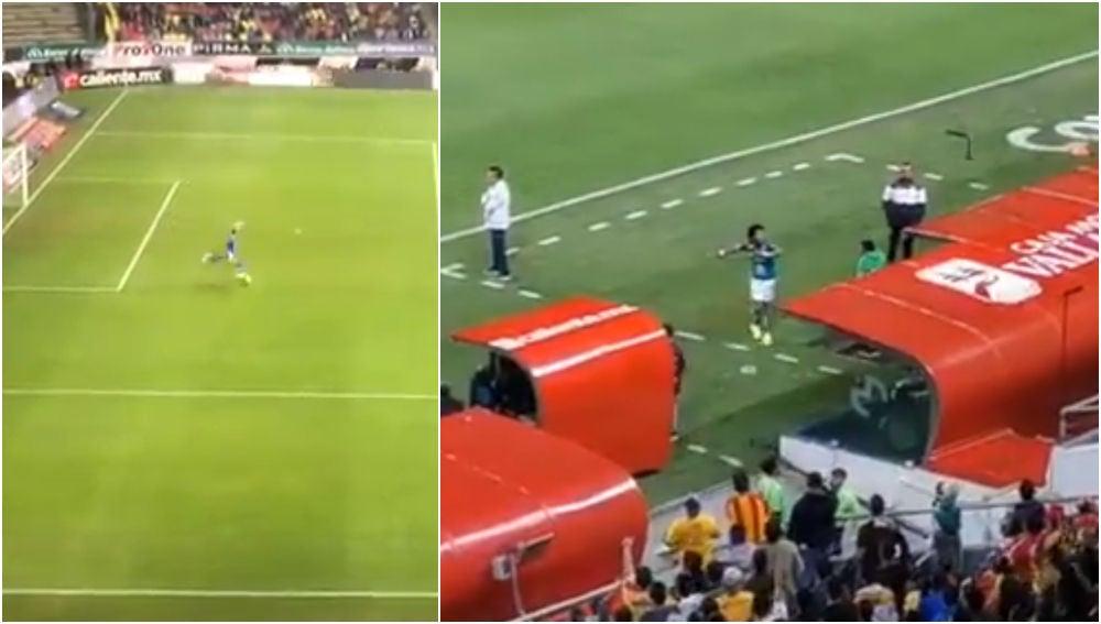 Momentos de los gritos homófobos en un partido en México