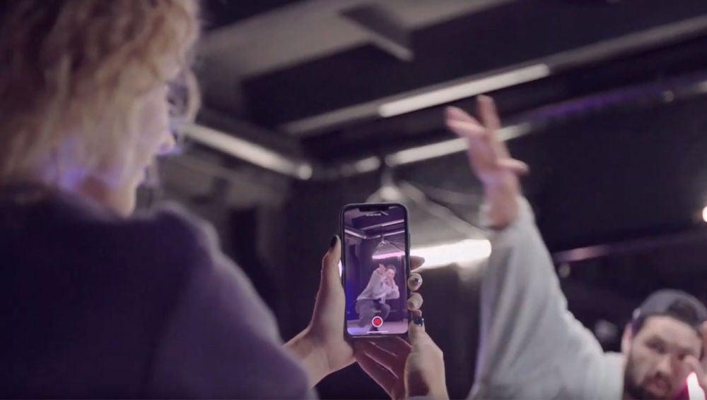 Grabando vídeo en el iPhone