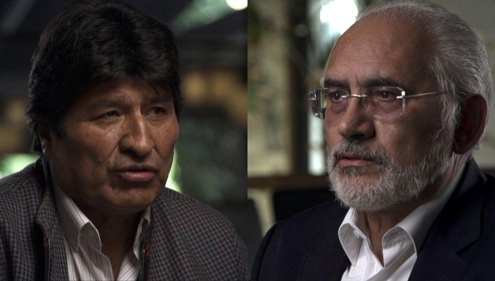 La visión de 'Las dos Bolivias' con Evo Morales y Carlos Mesa en Salvados