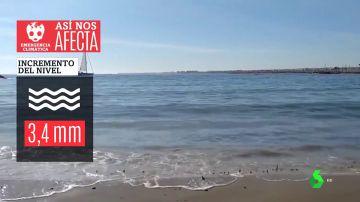 Subida del nivel del mar o aumento de temperaturas: las evidencias de la emergencia climática en España