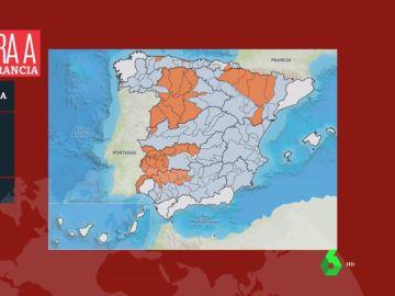 Así afecta la sequía a España