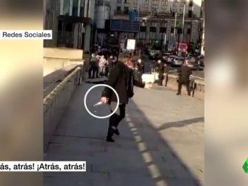 """Una familia catalana es testigo del atentado en el Puente de Londres: """"¡Tireu enrere!"""