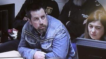 Imagen de 'El Chicle' en el juicio del caso Diana Quer