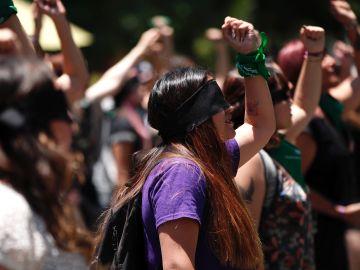 Coreografía de las feministas chilenas