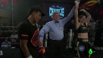 La concejala campeona del mundo de boxeo