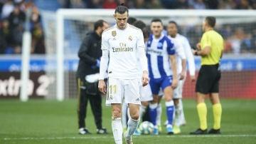 Gareth Bale, cabizbajo
