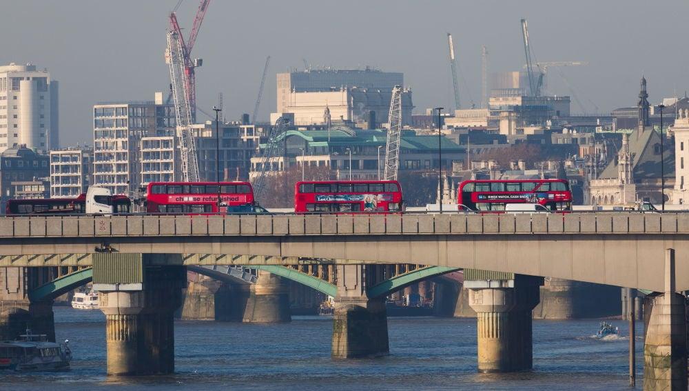 Puente de Londres donde tuvo lugar el atentado terrorista