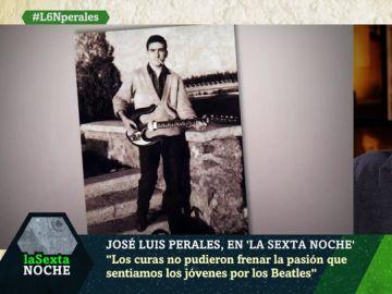 José Luis Perales con su primera guitarra