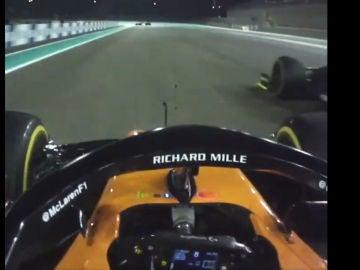Carlos Sainz adelanta a Nico Hulkenberg