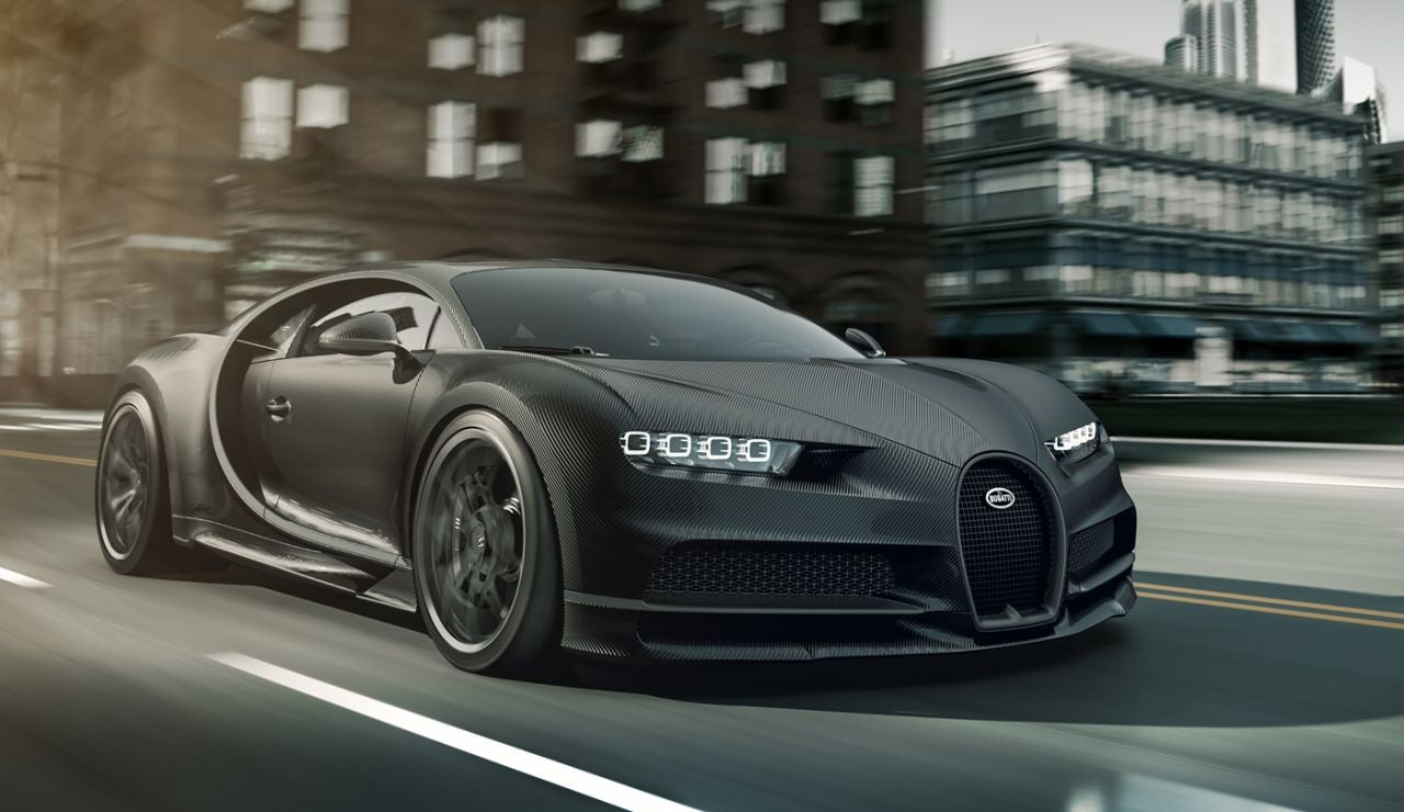 Bugatti Chiron Noir