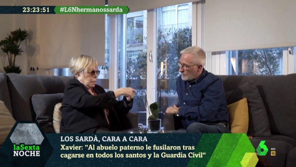 Rosa María Sardá y Xavier Sardá