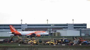 Aeropuerto de Schoenefeld, en la capital de Alemania, Berlín.