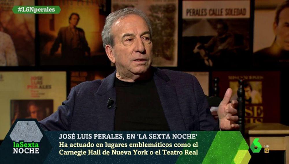José Luis Perales en laSexta Noche