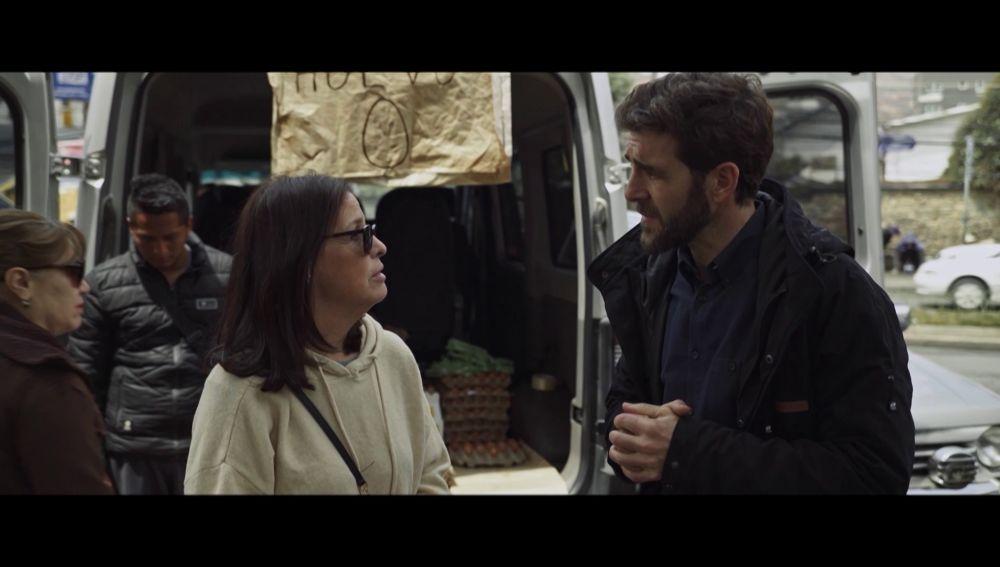 Gonzo entrevista a una mujer en Bolivia