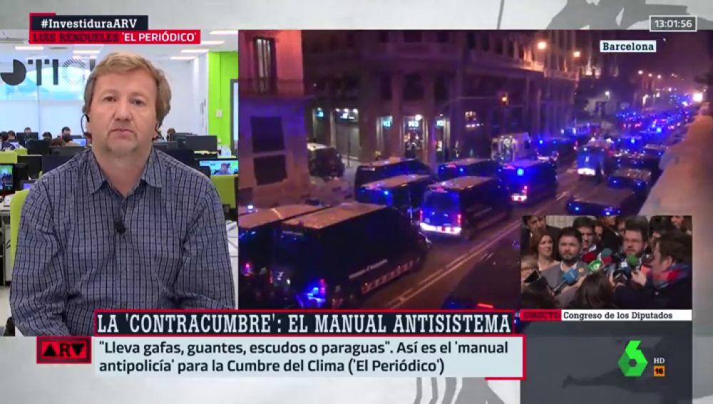 Luis Rendueles explica en este vídeo de Al Rojo Vivo cómo es el 'manual antipolicía'