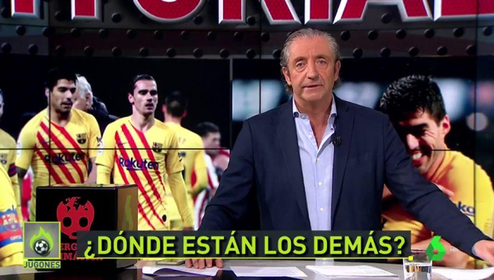 """Pedrerol: """"Messi hizo de las suyas pero... ¿dónde están los demás?"""""""