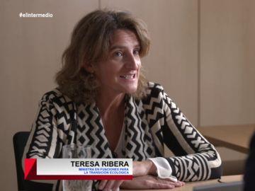 """""""¿Dónde está, que yo lo vea?"""": la ministra Ribera convence a Burque de que el cambio climático existe"""