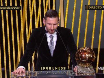 """Leo Messi, tras ganar el Balón de Oro: """"Se va acercando el momento de la retirada"""""""