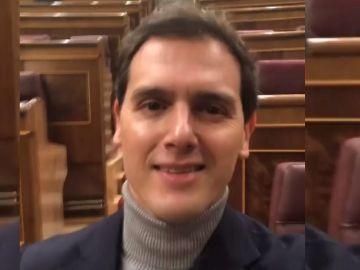 Rivera se despide del Congreso