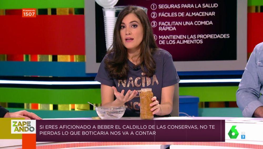 Boticaria García regresa a Zapeando para hablar sobre las conservas