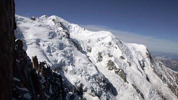 Imagen del principal pico del Mont Blanc
