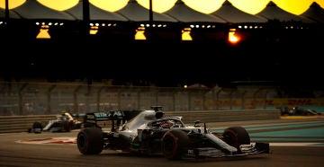 Lewis Hamilton vencía el Lewis Hamilton vencía el Gp de Abu Dhabi