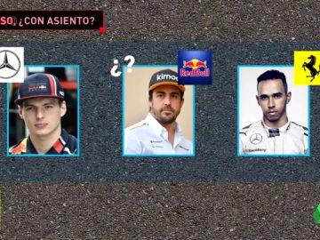 Fernando Alonso y el juego de sillas que le puede hacer volver a la F1