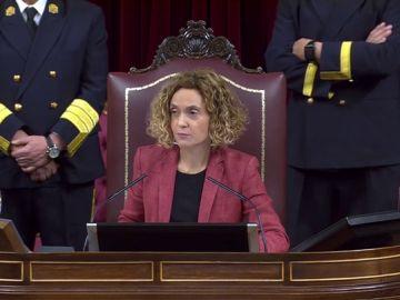 """Batet apela al """"respeto"""" y el """"diálogo"""" en el arranque de la legislatura"""