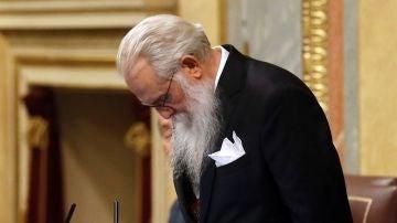 Agustín Zamarrón pide perdón en el Congreso