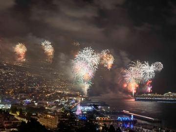 Fuegos artificiales en Fin de Año