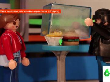 El caso de la hamburguesa de Zapeando en versión clicks
