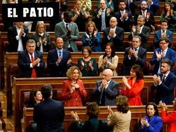 Meritxell Batet, tras ser nombrada presidenta del Congreso