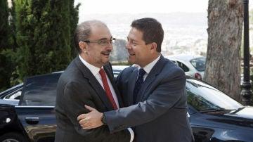 Javier Lambán y Emiliano García-Page