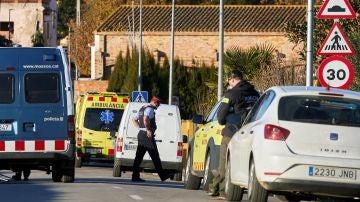 Los Mossos d'Esquadra investigan la muerte violenta de dos niñas, de 5 y 6 años de edad, en su domicilio de Vilobí d'Onyar