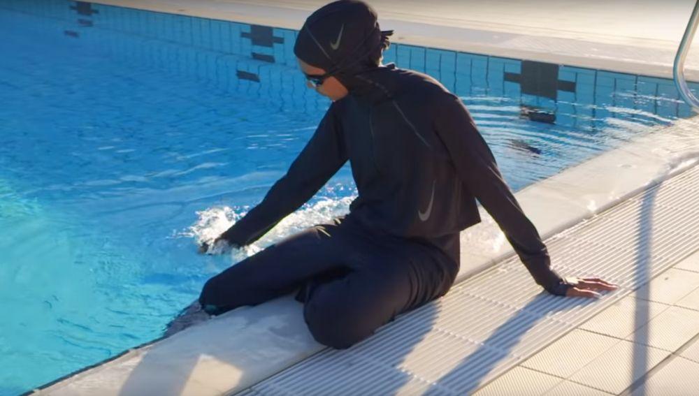 Nuevo 'bañador' de Nike adaptado al velo islámico